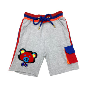 Grey Kids French Terry Shorts FTS - Elite Premium Denim