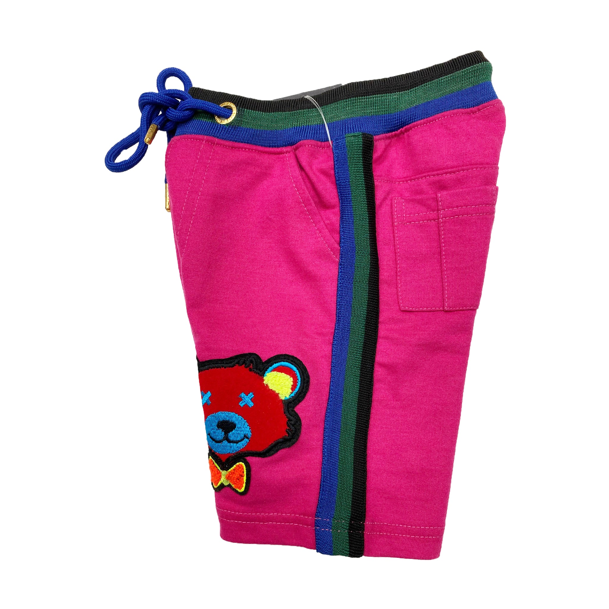 Pink Kids French Terry Shorts RGB - Elite Premium Denim