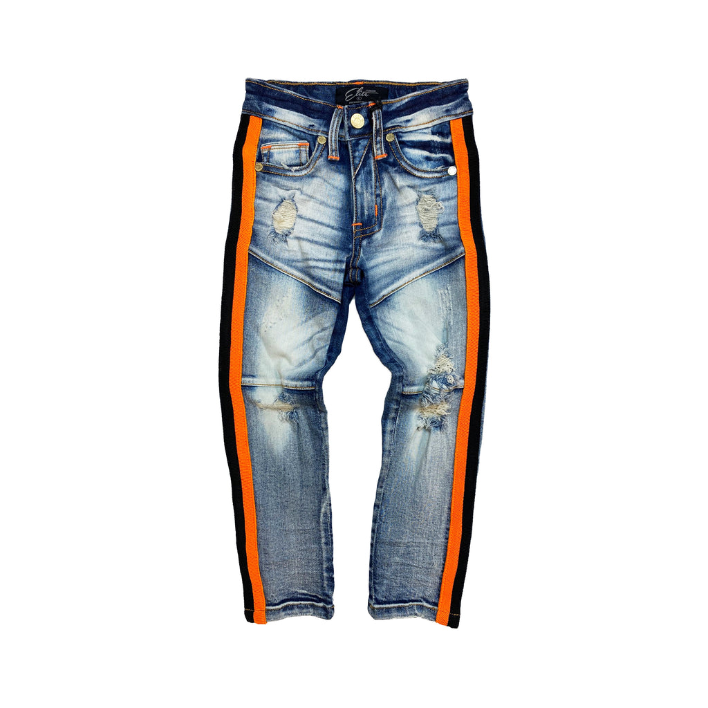 Orange Fin Premium Kids Jeans - Elite Premium Denim