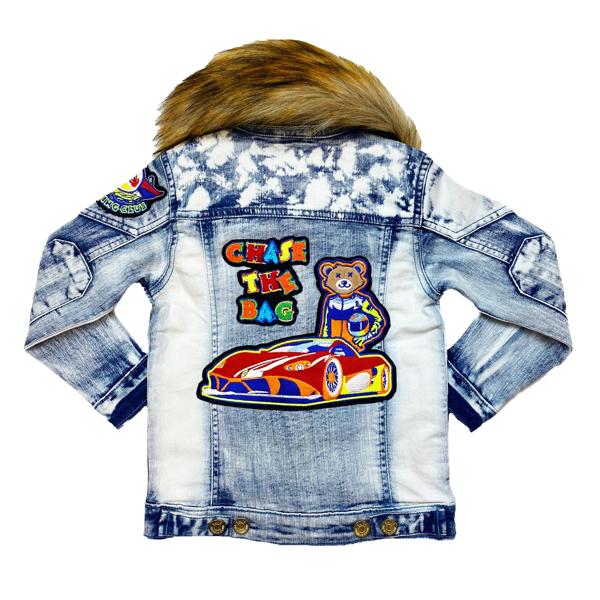 Kids Roadster Premium Denim Jacket Set - Elite Premium Denim