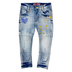 Blue Heart Girls Jeans - Elite Premium Denim