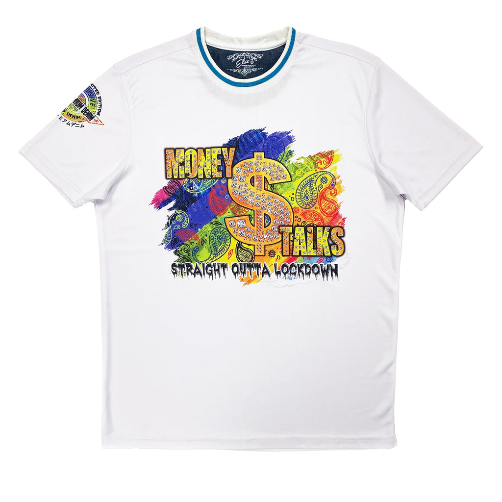 Money Talks Premium Men's Tee - Elite Premium Denim