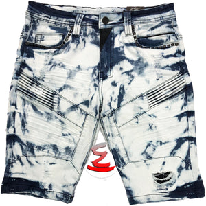 Deep Ocean Shorts - Elite Premium Denim