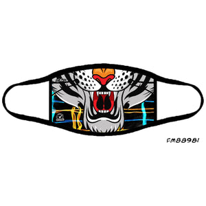 Tiger Adult Fashion Mask - Elite Premium Denim