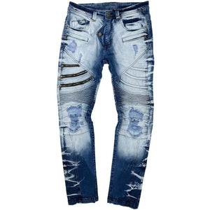 Stone Shine Jeans - Elite Premium Denim
