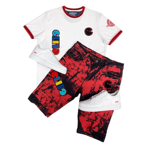 Red Bull II Patch Tee - Elite Premium Denim