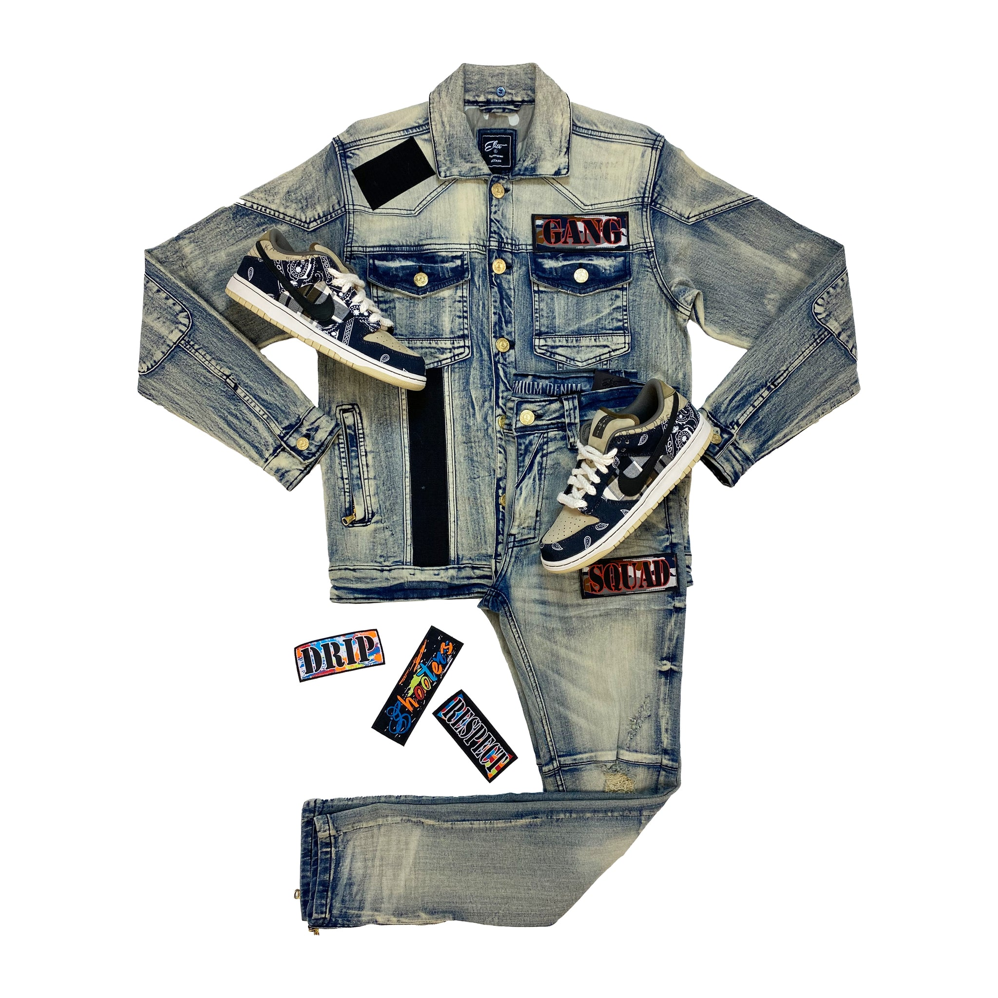 Tornado Denim Set - Elite Premium Denim
