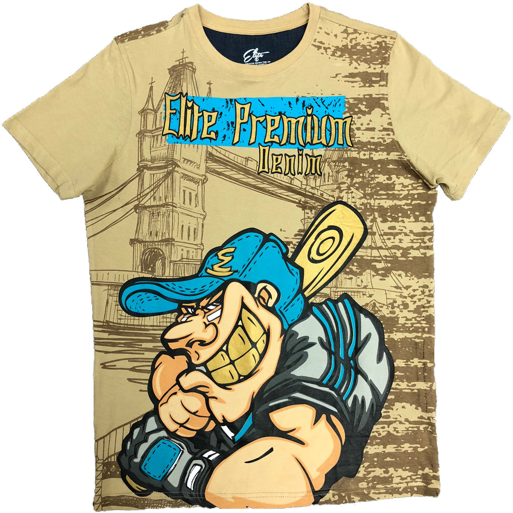 Home Run Tee - Elite Premium Denim