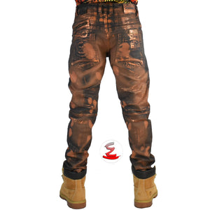 Bulldog Copper Premium Biker Jeans - Elite Premium Denim