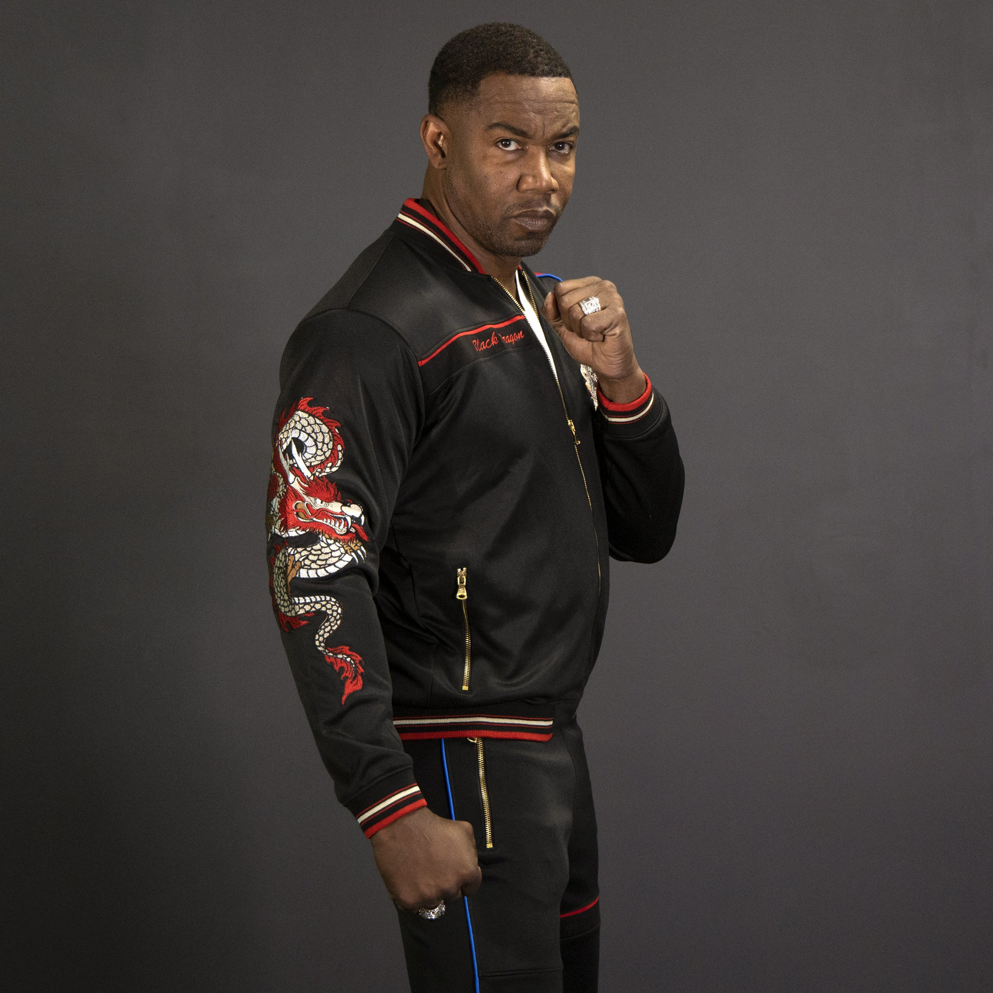 Black Dragon T-S By Michael Jai White