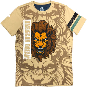 American Dream Lion Premium T-Shirt - Elite Premium Denim