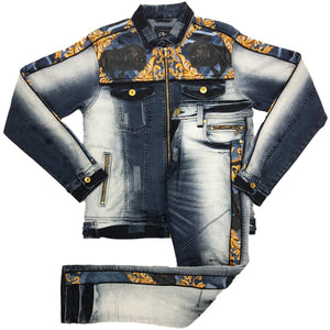 Marine DJ Denim Set - Elite Premium Denim