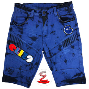 Royal Star II Patch Shorts - Elite Premium Denim