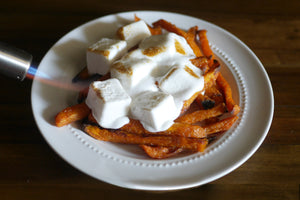 Marshmallow Sweet Potato Fries