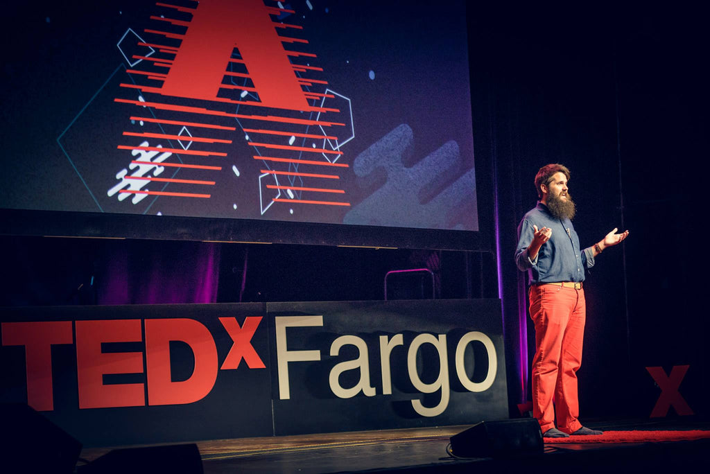 Nathan at TEDxFargo