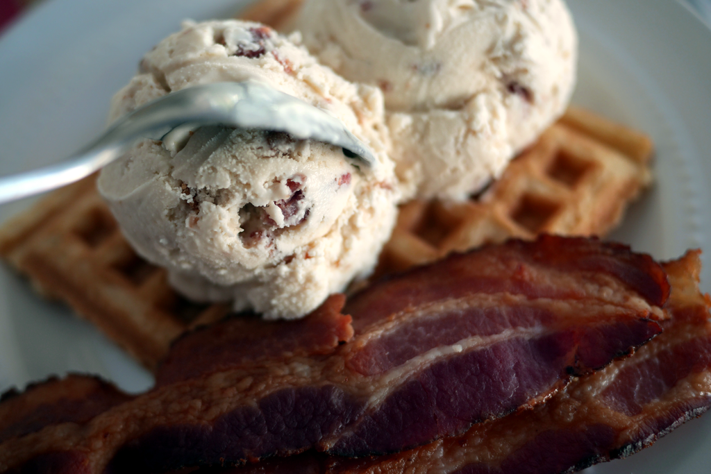 Maple Bacon Ice Cream Breakfast