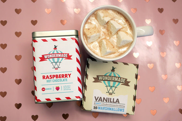 Raspberry Hot Chocolate Combo