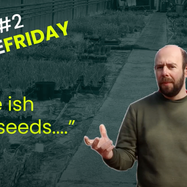 EP2 - Free (ish) seeds #5MINUTEFRIDAY