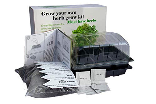 Grow Your Own herb kit. *Must Have Cooking Herbs*
