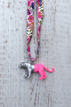 Load image into Gallery viewer, Silver/Pink Lion on Liberty