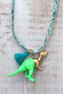 Dinosaur and Tassel on Liberty