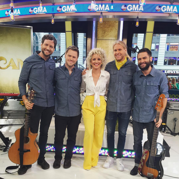 Video of Cam and the Band on Good Morning America