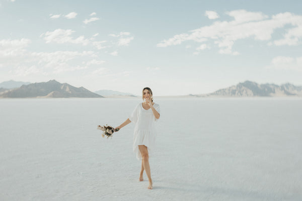 SUMMER SOLSTICE AT THE SALT FLATS