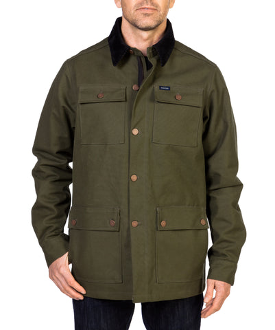 ARMY GREEN COOPER COAT