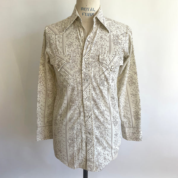 BLUE HAWAIIAN FLORAL Shirt