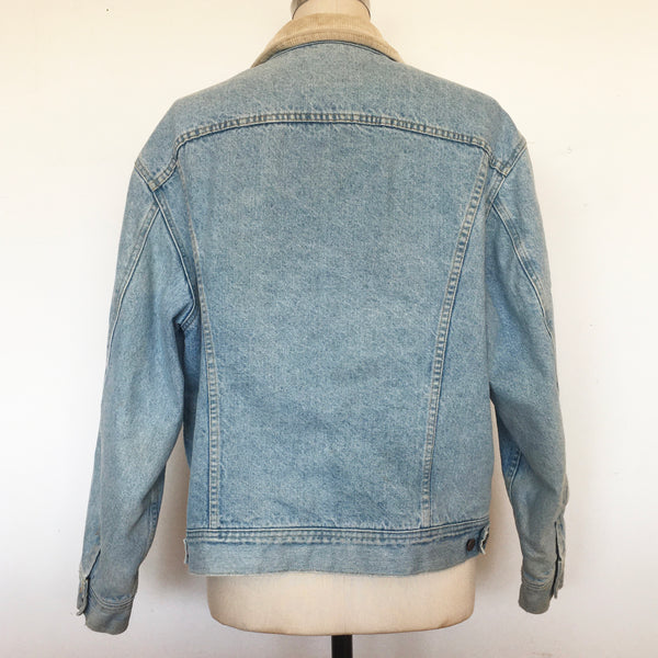 Vintage Lee LINED DENIM JACKET