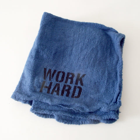 WORK HARD SHOP RAG