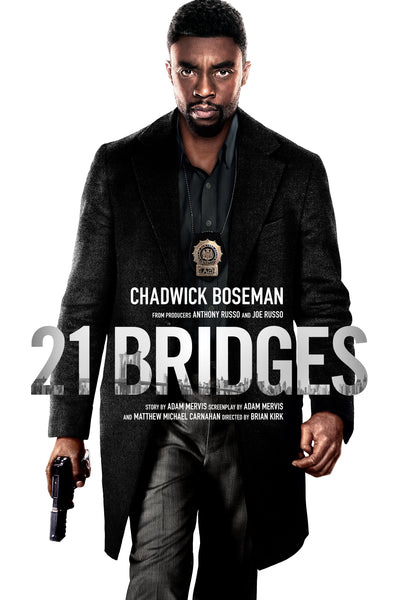 21 Bridges 4K UHD iTunes (NOT MA)