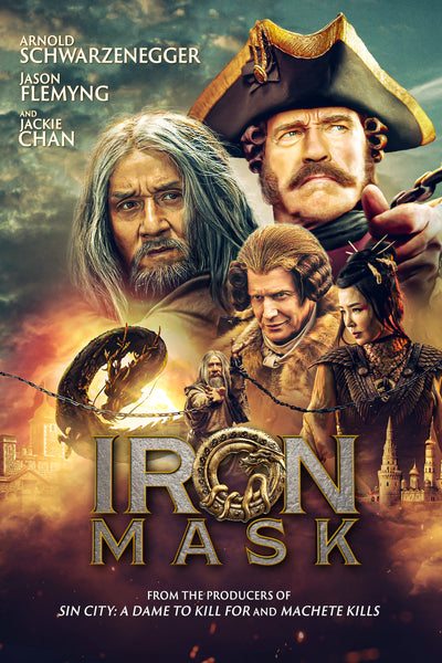 Iron Mask HDX Vudu or iTunes 4K (NOT MA)