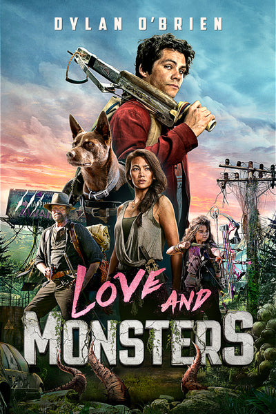 Love and Monsters HDX Vudu or iTunes 4K UHD