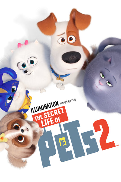 The Secret Life of Pets 2 HDX Vudu/MA