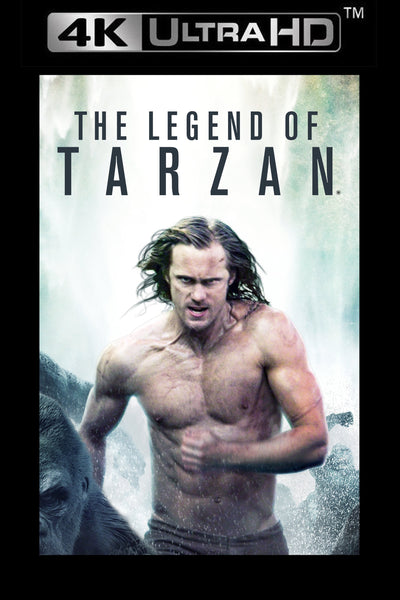 The Legend of Tarzan UHD 4K via Vudu