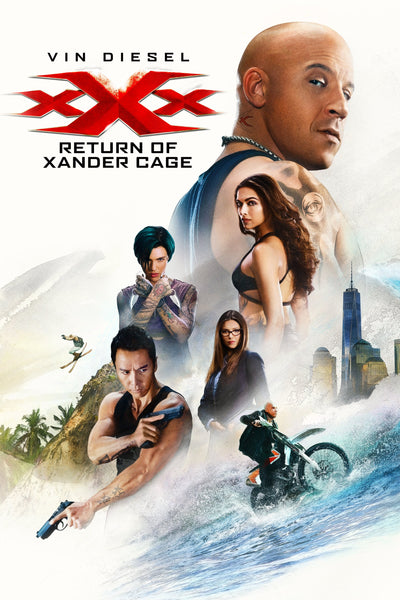 xXx: Return of Xander Cage HDX via Vudu