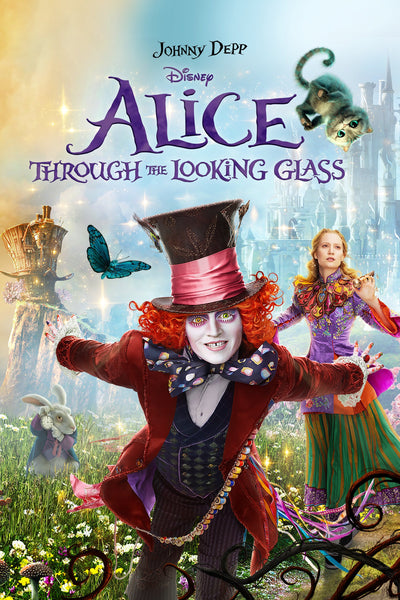 Alice Through the Looking Glass HDX Vudu/MA