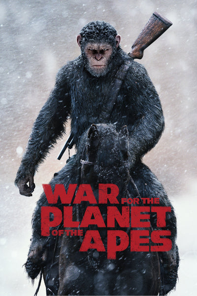War for the Planet of the Apes HDX via Vudu, iTunes or Google Play