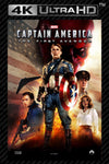 Captain America: The First Avenger 4K UHD Vudu/MA