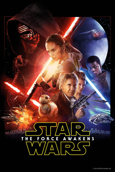 Star Wars: Force Awakens HDX Vudu/MA