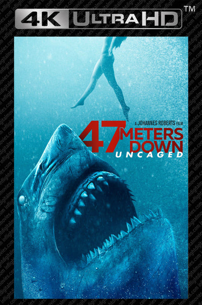 47 Meters Down: Uncage 4K UHD Vudu or iTunes (NOT MA)