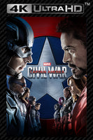 Captain America: Civil War 4K UHD Vudu/MA