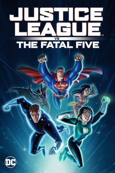 Justice League vs the Fatal Five HDX Vudu/MA