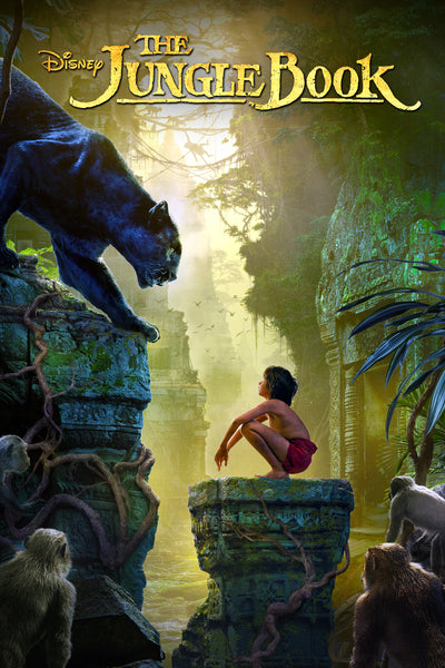 The Jungle Book (2016) HDX Vudu/MA