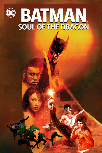 Batman: Soul of the Dragon HDX Vudu/MA