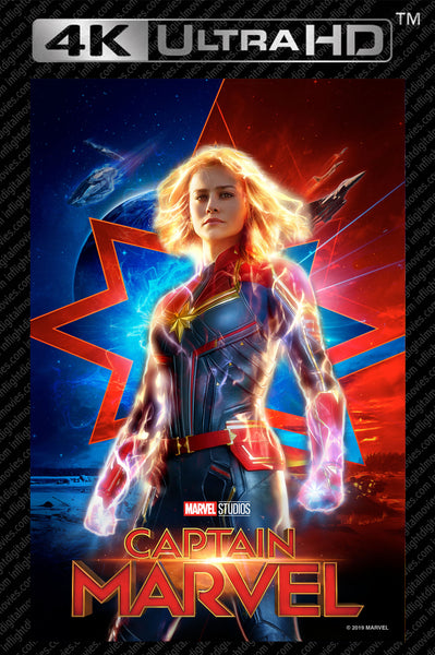 Captain Marvel 4K UHD Vudu/MA