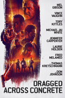 Dragged Across Concrete HDX Vudu or (4K UHD iTunes) (NOT MA)