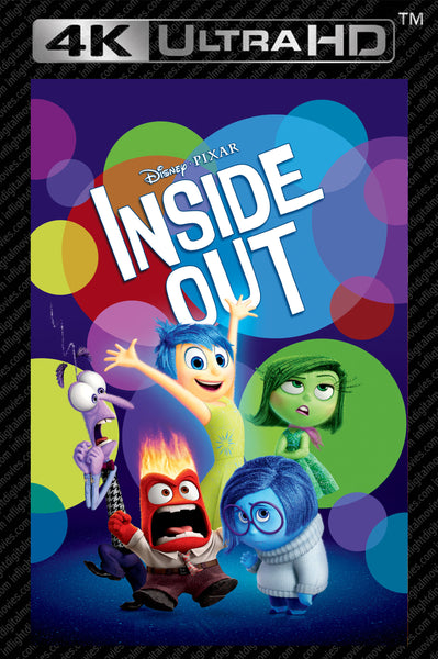 Inside Out 4K UHD Vudu/MA