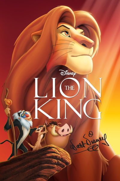The Lion King HDX Vudu/MA